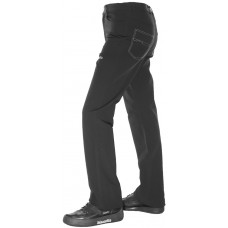 Gents Black Balance Plus Curling Jeans